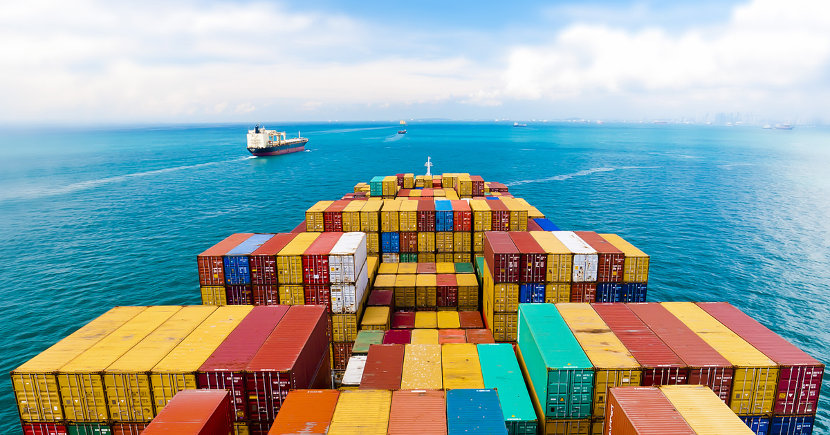 Trade shipping containers