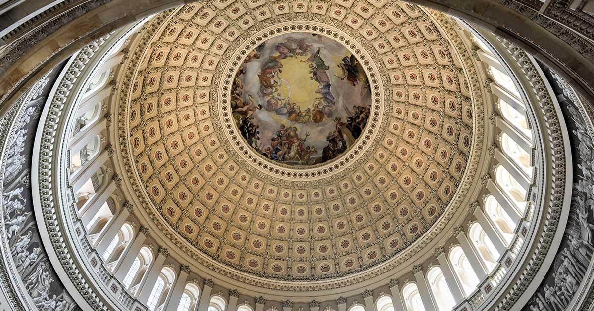 US Capitol Rotunda - AISI Letters