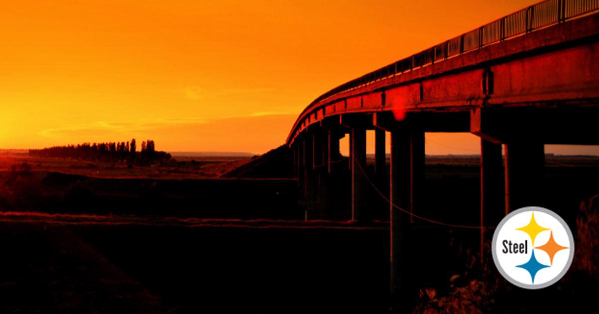 Steel Bridge Sunset
